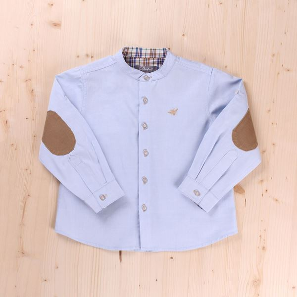 Picture of CAMISA JUNIOR INDIGO CUELLO MAO