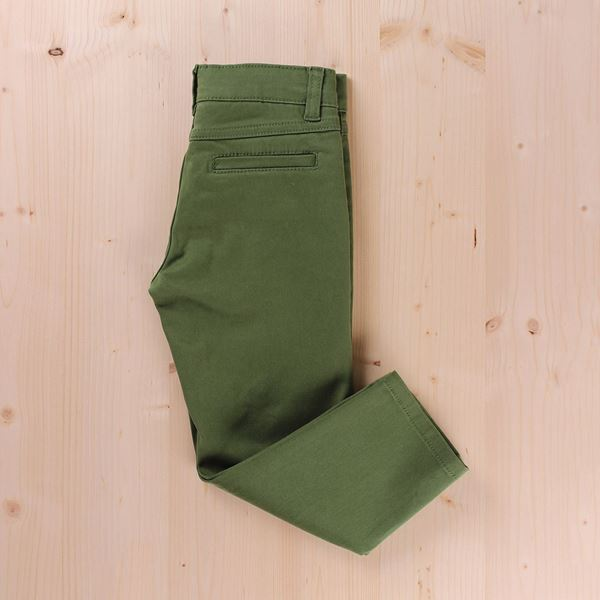 Image de PANTALON JUNIOR CHINO GABARDINA