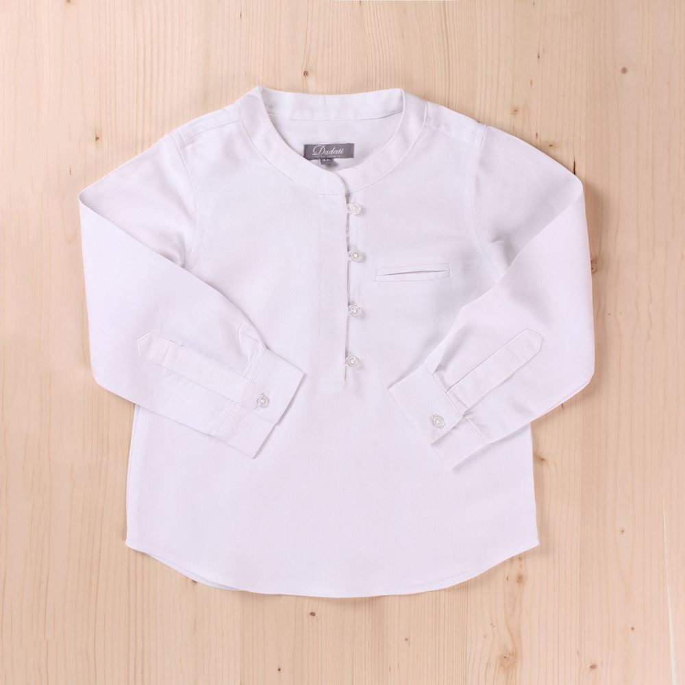 Image de Camisa blanca larga