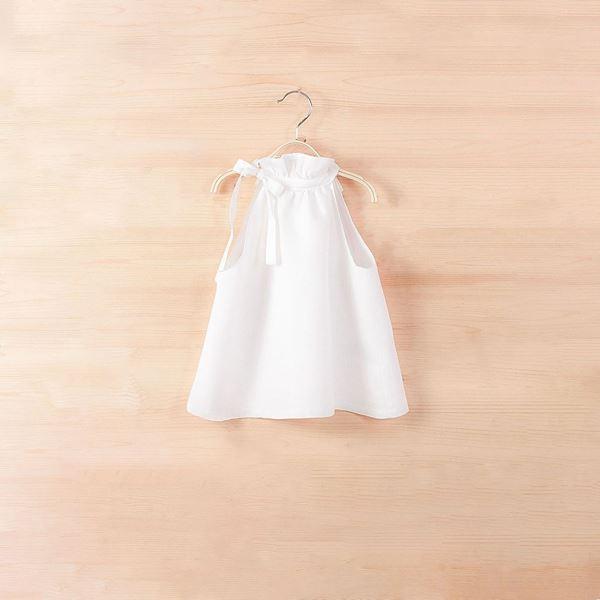 Image de Blusa lino cuello halter