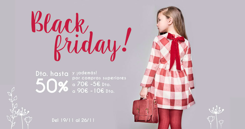 Black Friday en Dadati Moda Infantil
