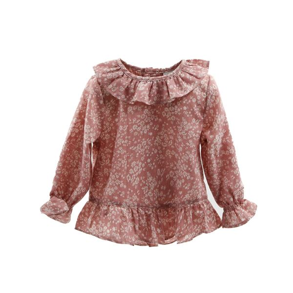 Picture of BLUSA PEPLUM FLOWER BREEZE