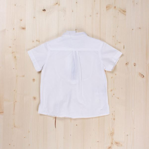 Picture of Camisa blanca manga corta niño