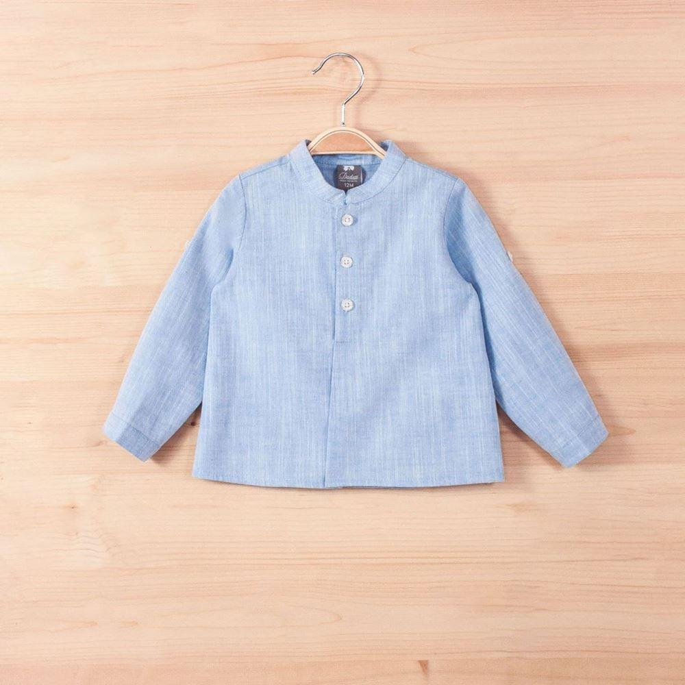Imagen de Camisa bb brisa azul