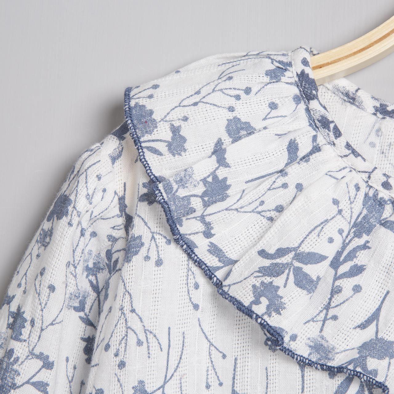 Image sur Camisa floral Vintage