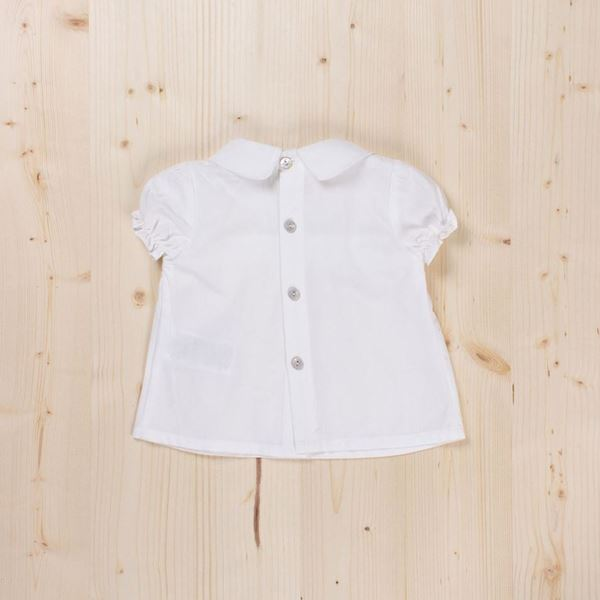 Picture of Blusa blanca bb