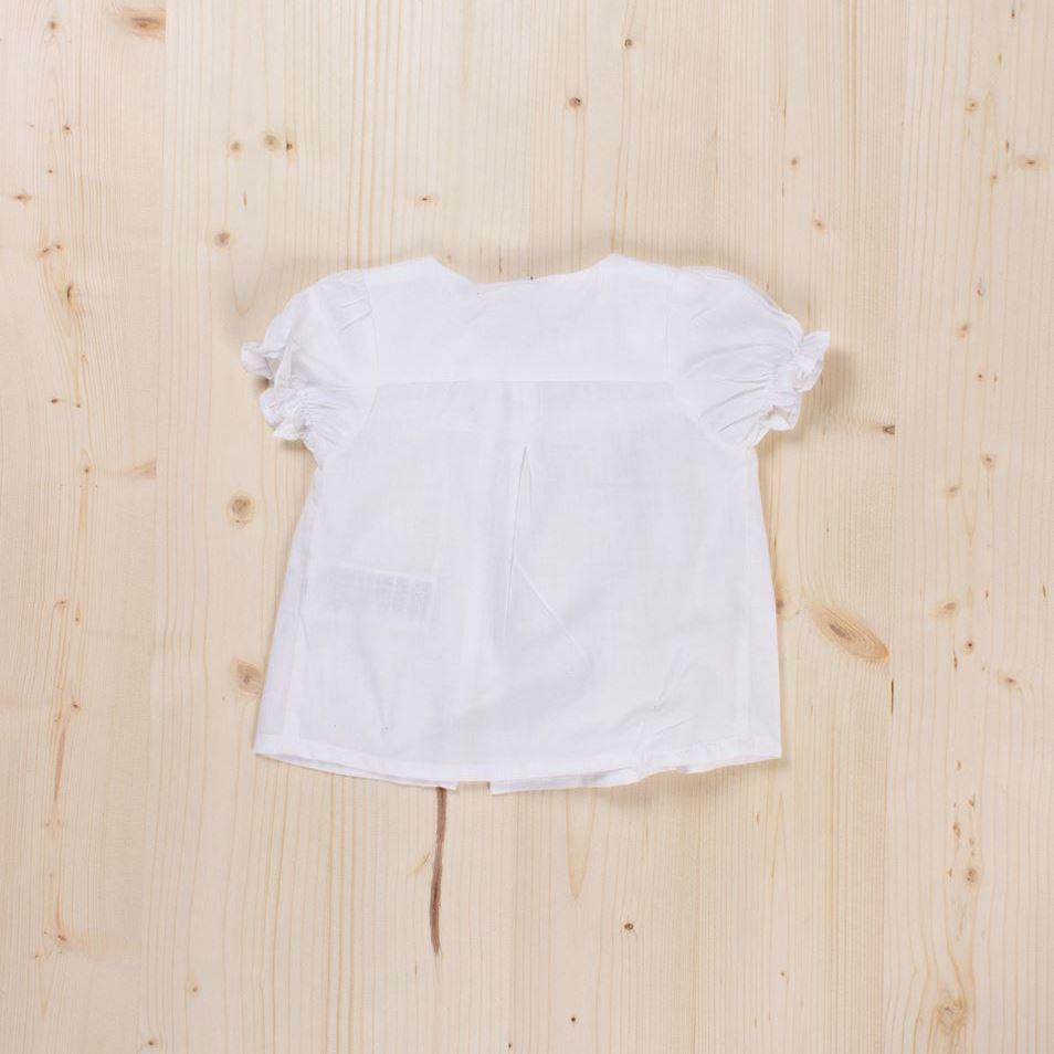 Imagen de Blusa blanca con botones bb