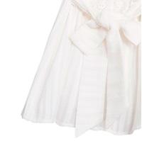 Imagen de Vestido de bebé niña con rayas blancas y volantes