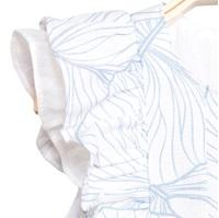 Imagen de Vestido de bebé niña estampado con braguita