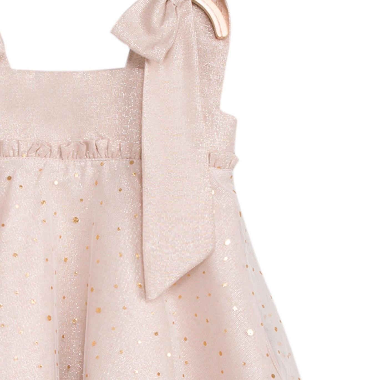 Imagen de Vestido de niña en color arena y brillo