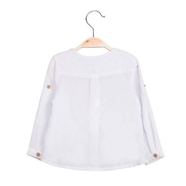 Image de Camisa de bebé niño con print estrellas y manga larga
