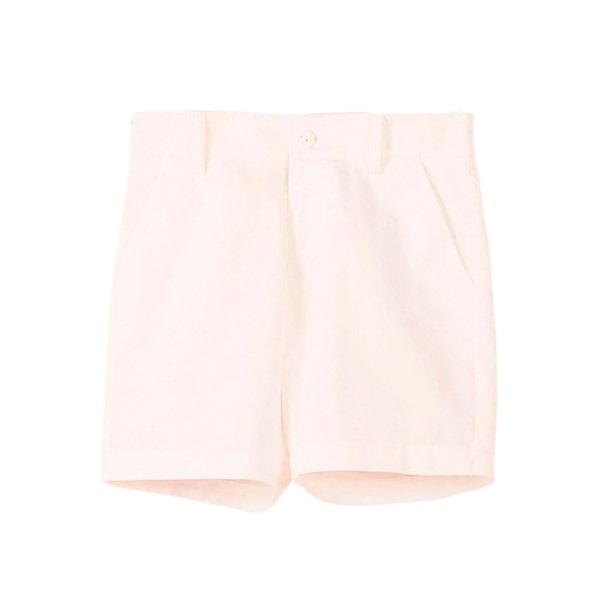 Image de Bermuda de niño en blanco con bolsillos