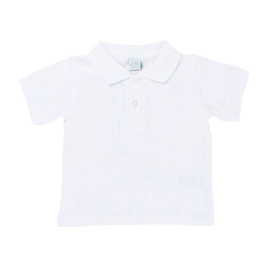 Imagen de Polo blanco bebé