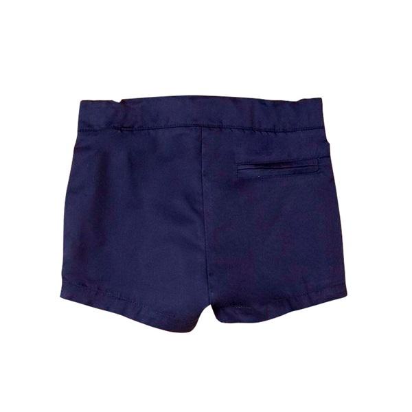 Picture of Bermuda de niño en azul marino con bolsillos