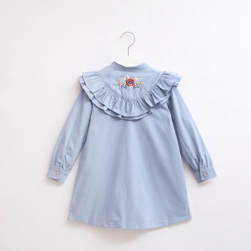 Image sur Vestido junior boho azul