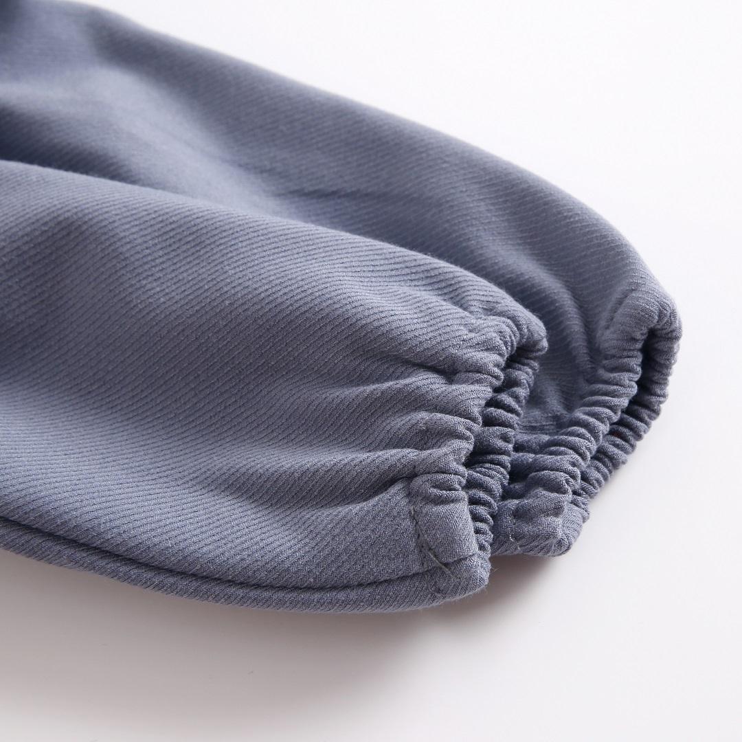 Imagen de vestido azul boho con canesu etnico