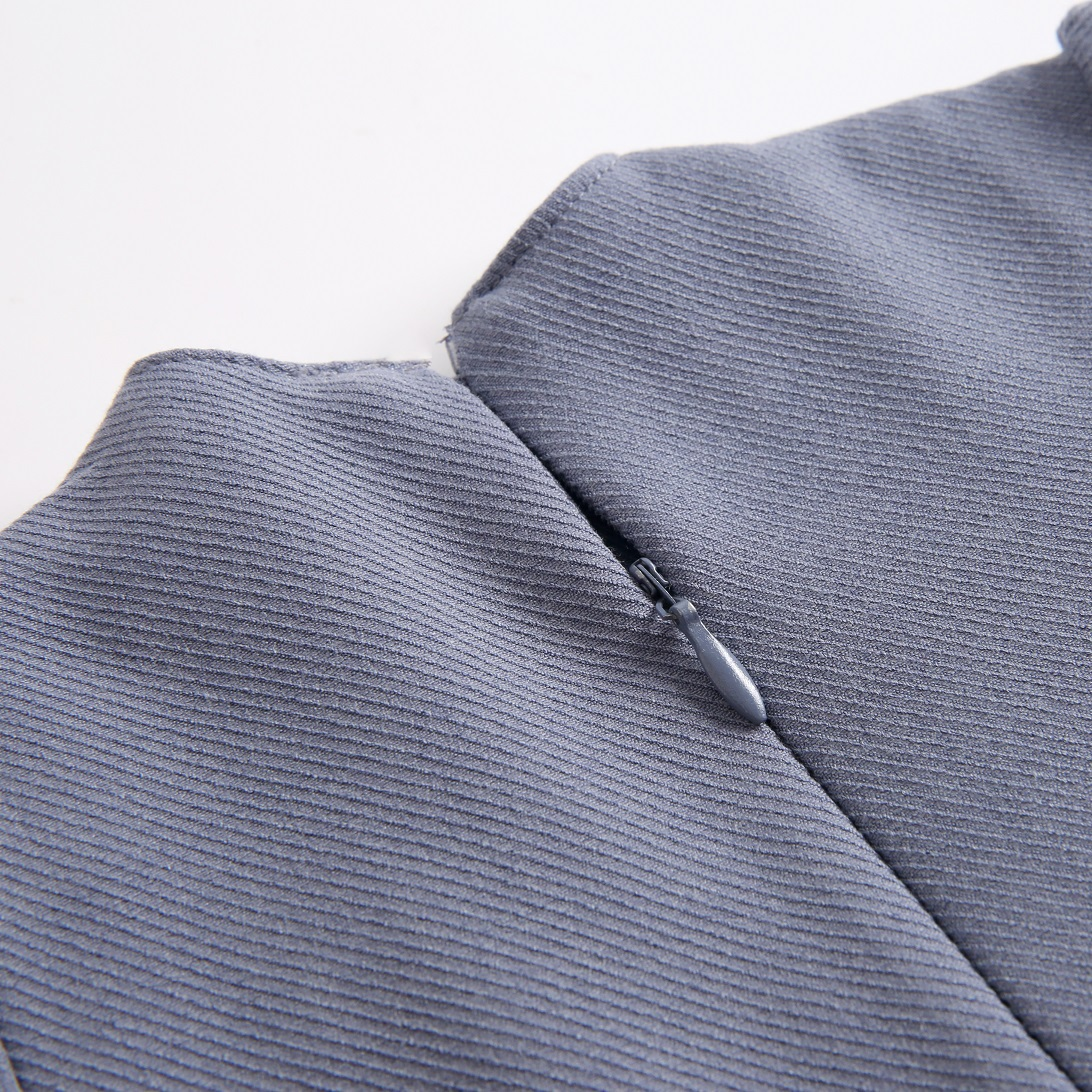 Picture of vestido azul boho con canesu etnico