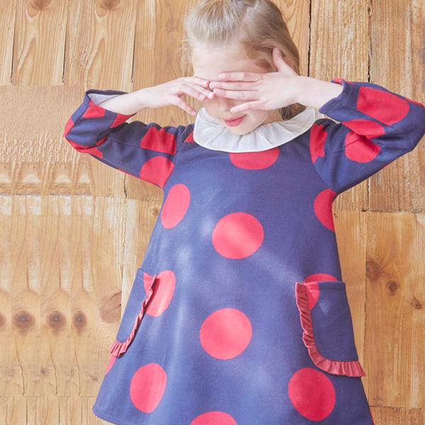 Imagen de vestido de punto maxilunares rojos