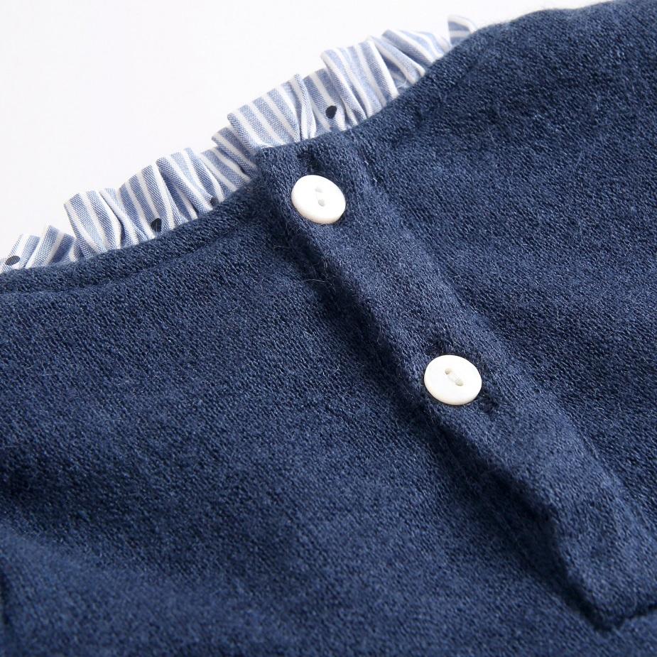 Image sur vestido combinado punto-camisero