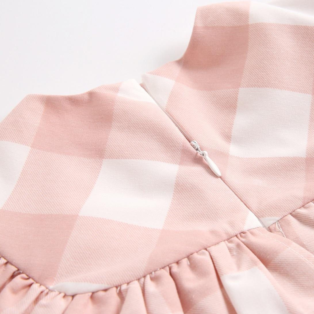 Picture of vestido bb cuadros rosas