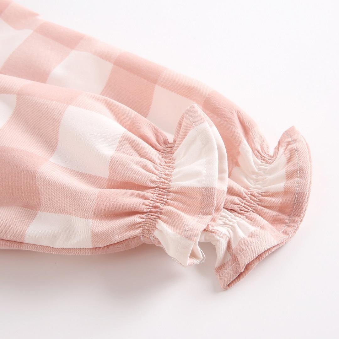 Picture of vestido junio cuadros rosas