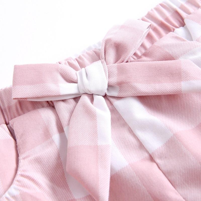 Imagen de Pololo cuadros vichy rosa