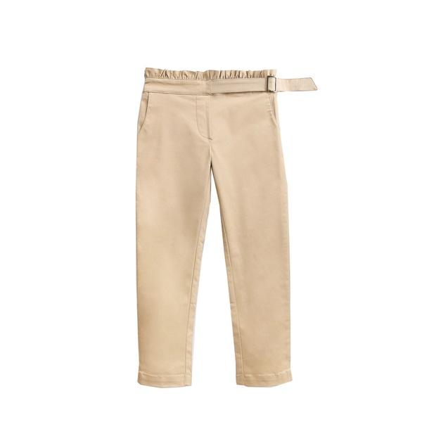 Imagen de pantalon camel con cinturon