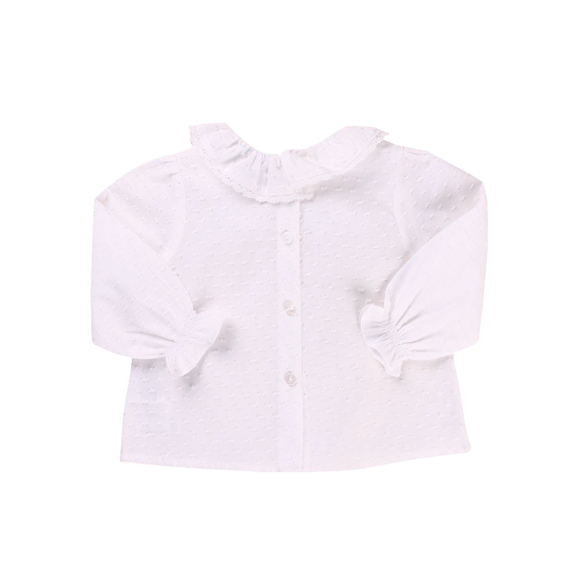 Picture of CAMISA NIÑA PLUMETI CRUDO