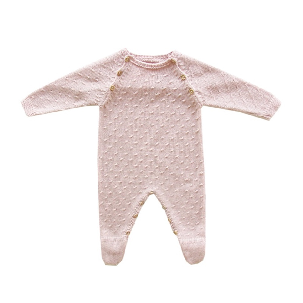 Imagen de Pelele punto rosa maquillaje baby