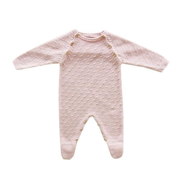 Image de Pelele punto rosa maquillaje baby