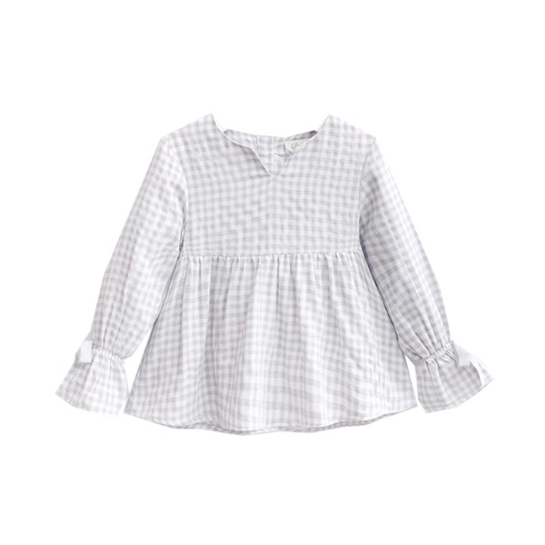 Picture of blusa de vichy gris
