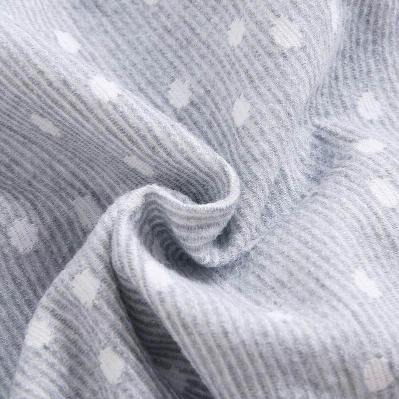 Picture of Vestido junior niña gris topos