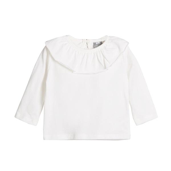 Image de Camiseta bebé cuello volante