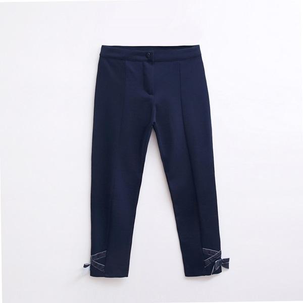 Image de pantalon elastico marino