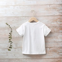 Image de Camiseta niño blanca con estampado de barco
