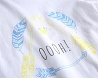 Picture of Camiseta niño blanca con estampado étnico