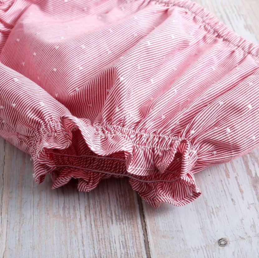 Image sur Vestido bebé Náutico rojo