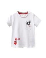 Picture of Conjunto camisetas niño con motivos plumas y perrito.