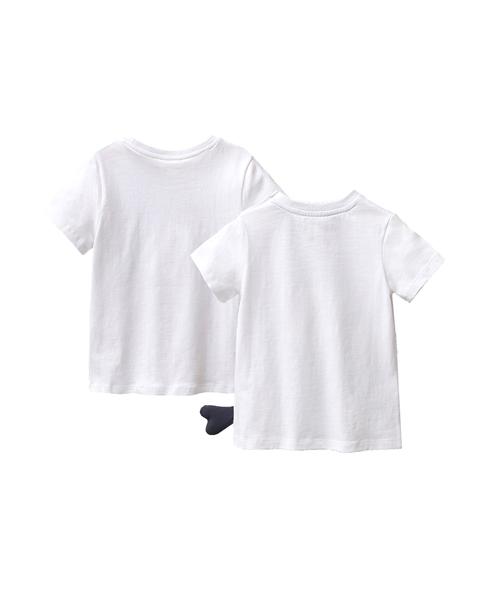 Imagen de Conjunto camisetas niño con motivos barco y pez con cola lateral
