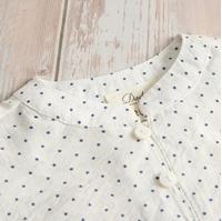 Imagen de conjunto de bebe camisa estrella y bermuda de rayas azules