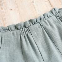 Imagen de Short teen azul textura rustico