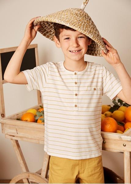Imagen de Copy of Camisa de bebé niño en blanco y manga larga