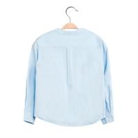 Imagen de Camisa de niño en azul claro y manga larga