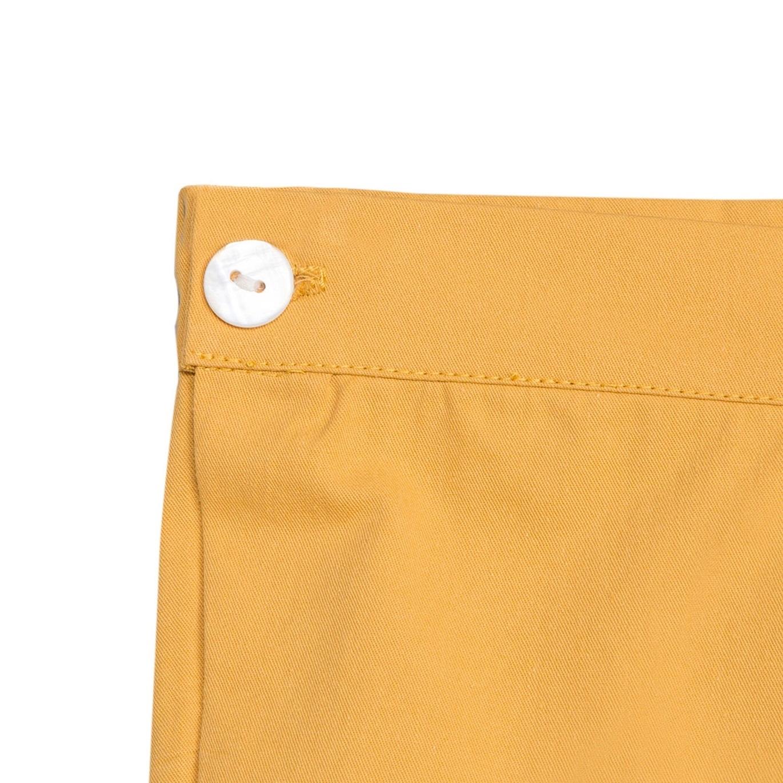 Imagen de Short de bebé niño en mostaza con botones