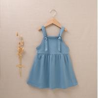 Imagen de Pichi de niña felpa verde azul